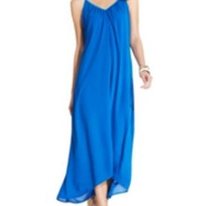 Ny Collection Womens Hi Low Spaghetti Straps Dress